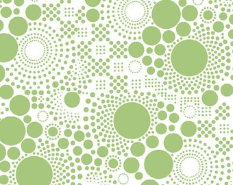 """Hipsters - Pop LIME ~ 100% Cotton Fabric ~ 1/2 yard ~ 18"""" x 44"""" ~ from Riley Blake ~ C521-03"""
