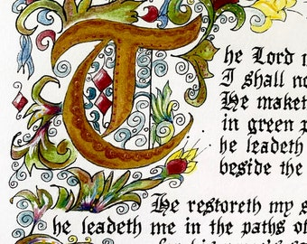 Psalm 23/For Her/The Lord is my Shepherd