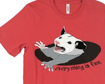 Possum shirt | Etsy