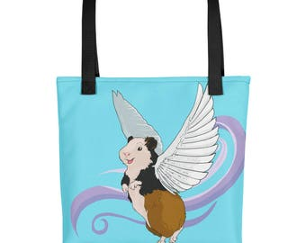 When (Guinea) Pigs Fly Tote bag