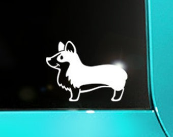 Corgi Butt Decal Corgi Laptop Sticker Corgi Loaf Car Decal Corgi Bottom Sticker #1017 Corgi Heart Butt Decal // 4.25h x 2.75w