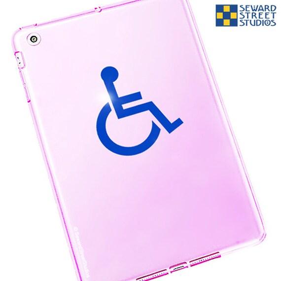 Traditionelle Behinderten Symbol Aufkleber Rollstuhl Zugang Aufkleber Ada Symbol Auto Aufkleber Handicap Symbol Van Aufkleber 350 H X 325 W