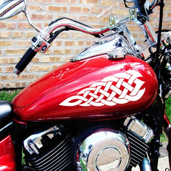 Tribal Tank Bike Motorcycle MotorBike Sticker Vinyl Graphics 018 Decal