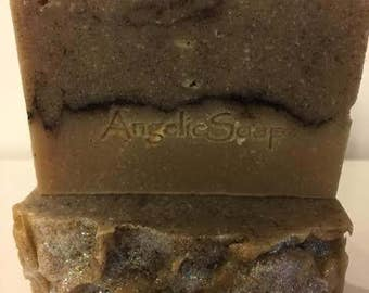 Madagascar Vanilla Tonka Cedar Organic Shea Butter Artisan Soap *Bohemian* Handcrafted Soap