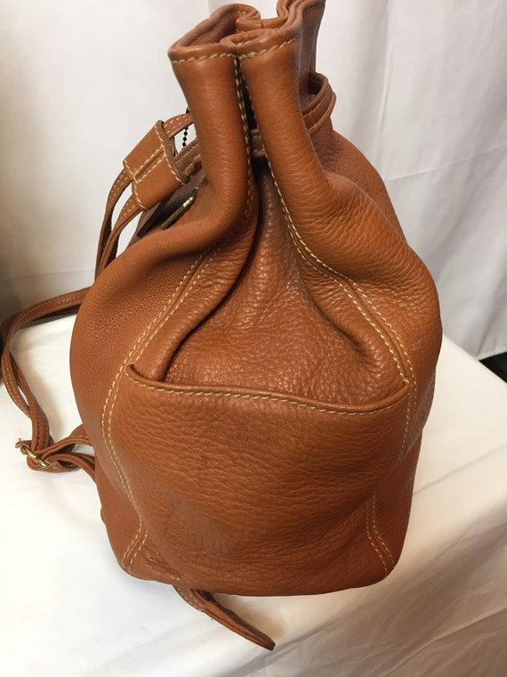 Vintage Coach Sonoma British Tan Backpack Circa 1… - image 3