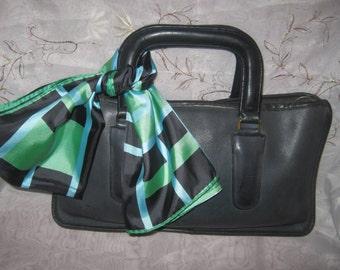 Vintage Coach 70s NYC Handbag Worn Purse Chic Preppy Bonnie Cashin Stylish Fashionable Traditional Wear