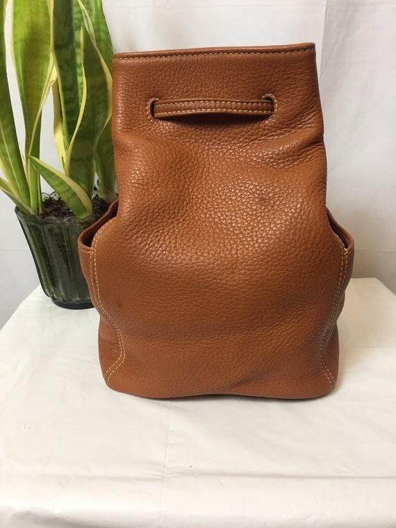 Vintage Coach Sonoma British Tan Backpack Circa 1… - image 1