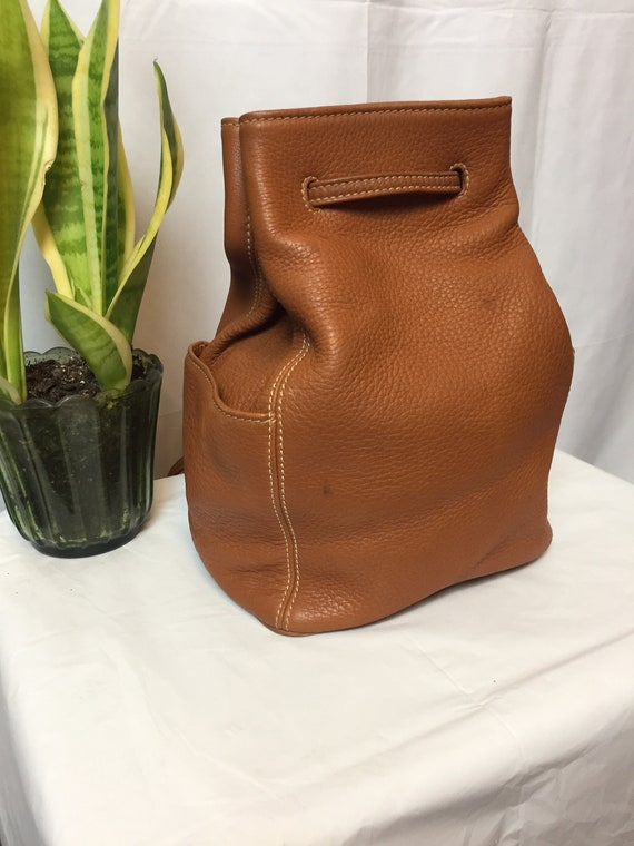 Vintage Coach Sonoma British Tan Backpack Circa 1… - image 2