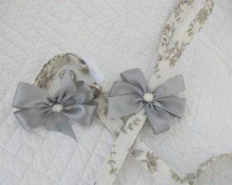 Wedding Leash and Collar Dog Collar  Set
