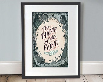 Name Of The Wind A3 Art Print