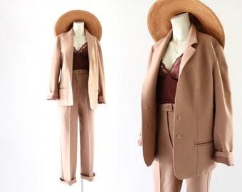 70's nutmeg suit - 2 pc - 26