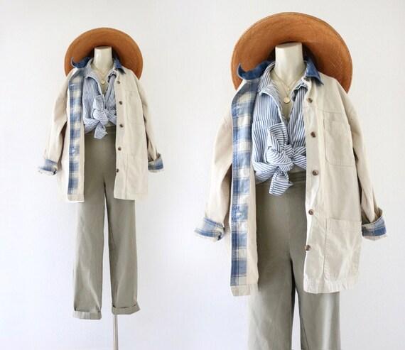 khaki chore jacket