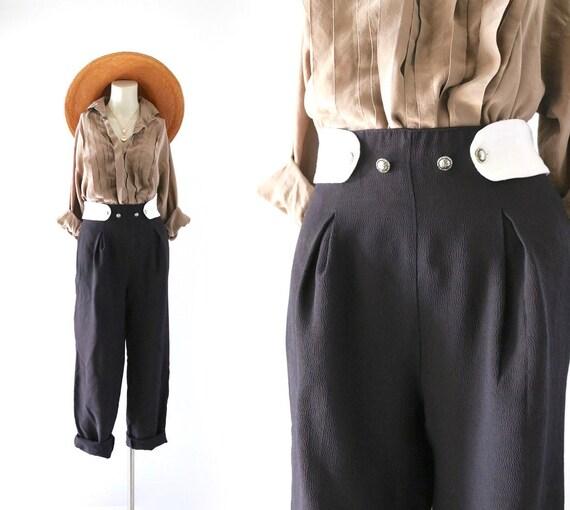 high waist tuxedo trousers 32-34