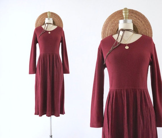 berry market dress - s