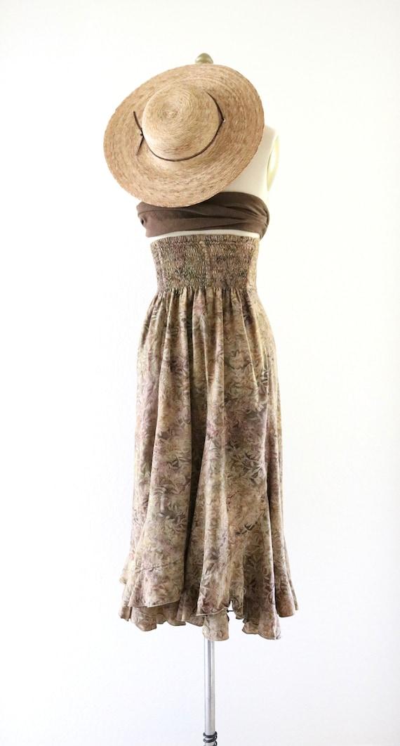 high waisted foliage skirt - xs - image 5