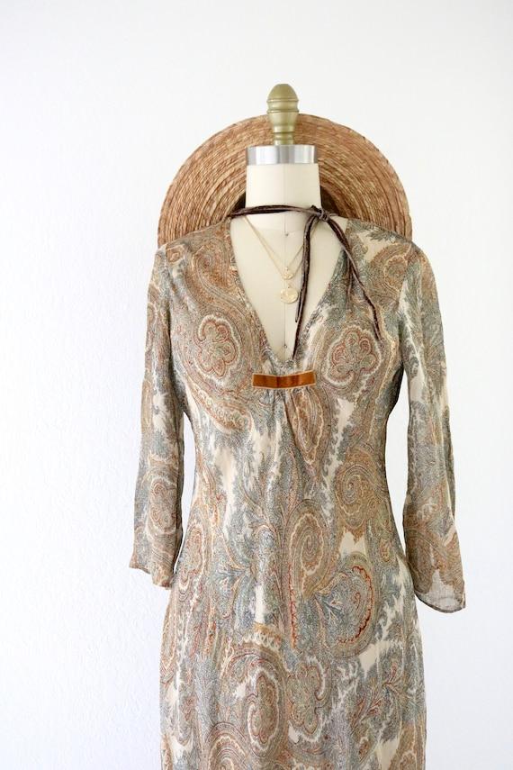 sheer chiffon dress - 4 - image 3