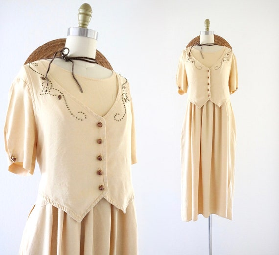 chamomile market dress -m