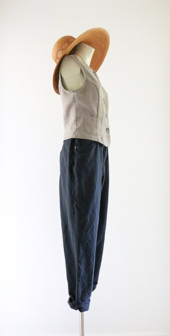 linen trousers - 28 - image 3