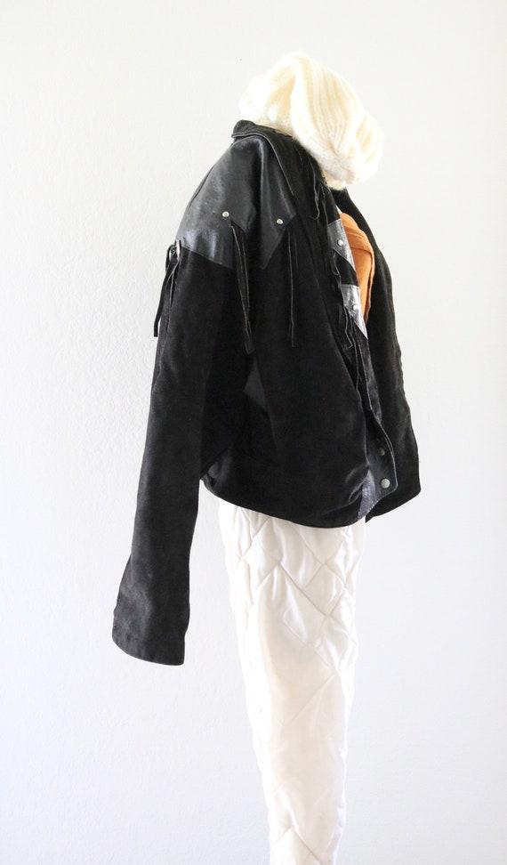 suede fringe jacket - image 5