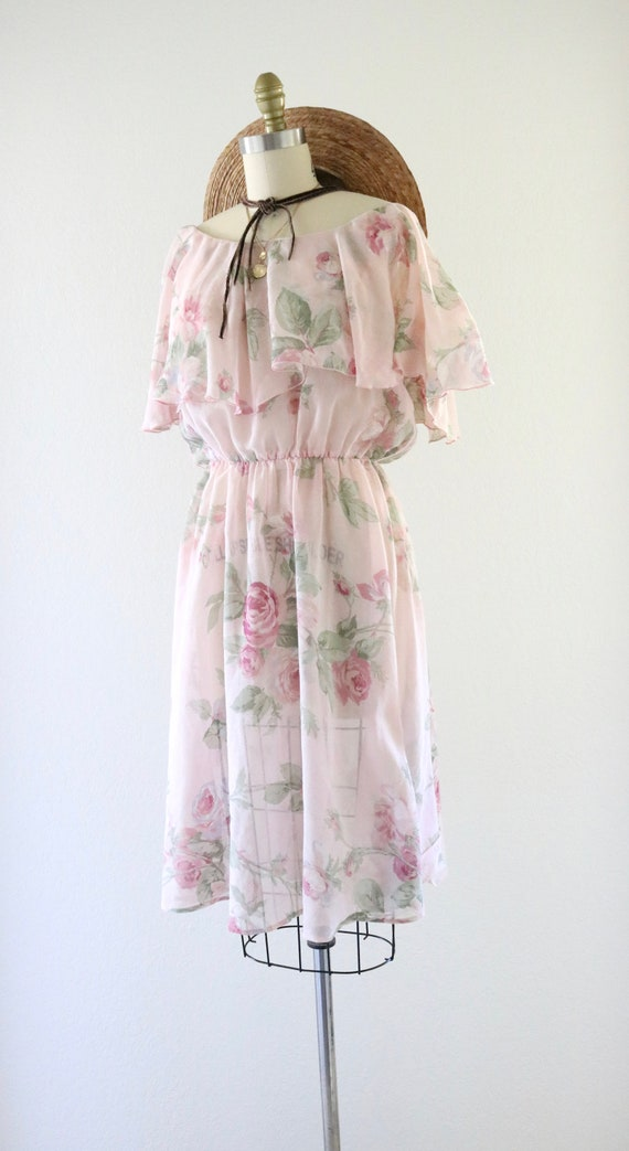 cottagecore ruffle dress - m - image 5