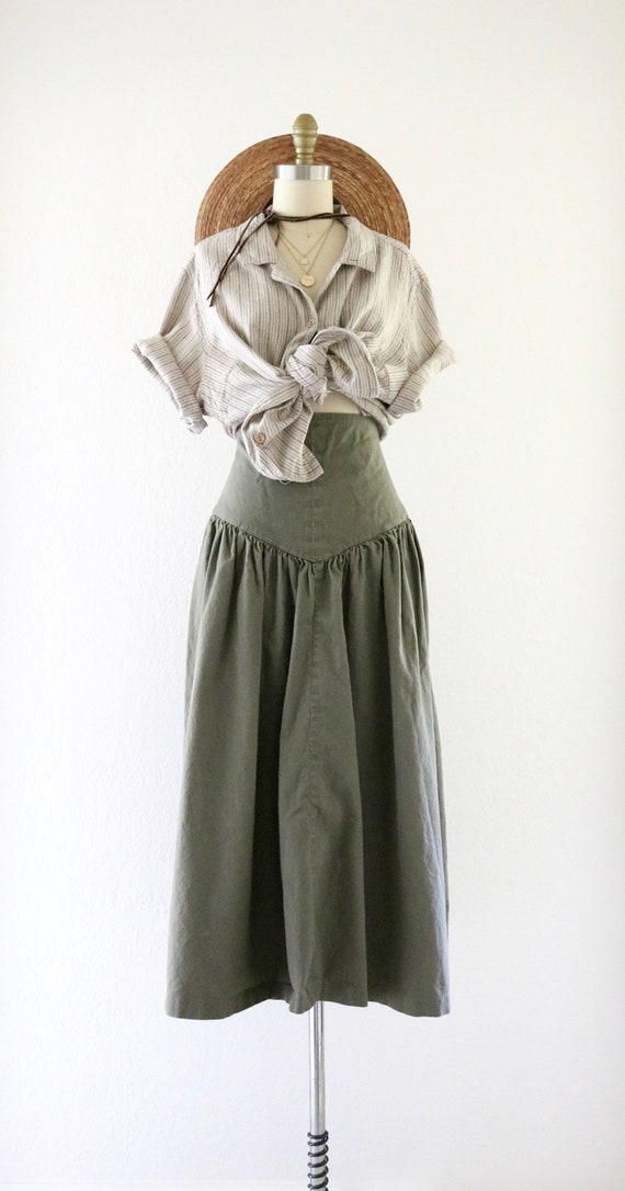 high waisted skirt - 25 - image 2