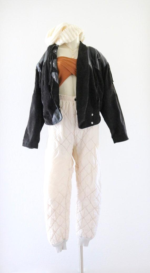 suede fringe jacket - image 2