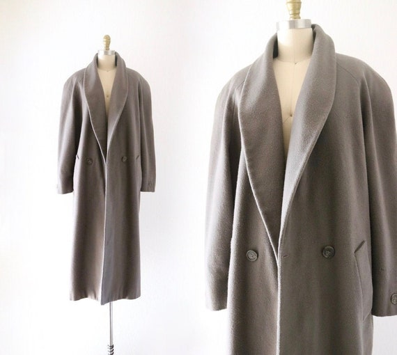 stone wool oversized coat