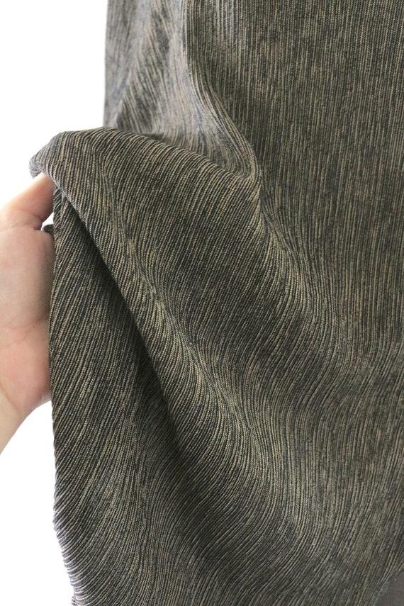 oversized micro stripe tee - image 2