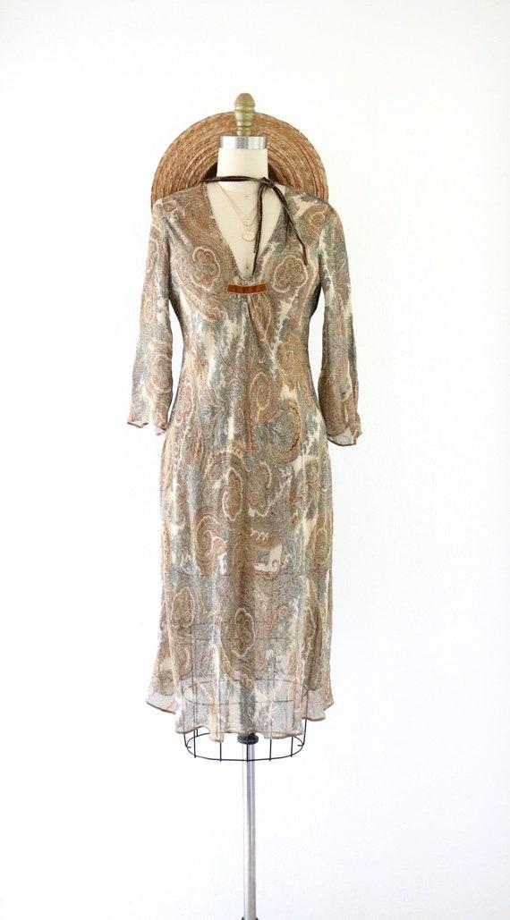 sheer chiffon dress - 4 - image 2