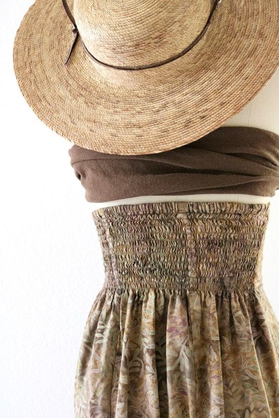 high waisted foliage skirt - xs - image 6
