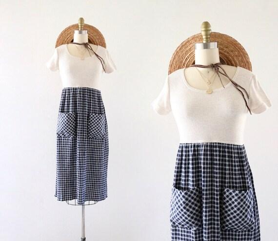 check market dress 3/4