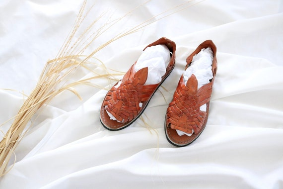Mexican leather huaraches - 7