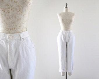 high waist jeans / 12