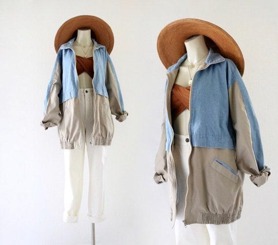 chambray-denim jacket