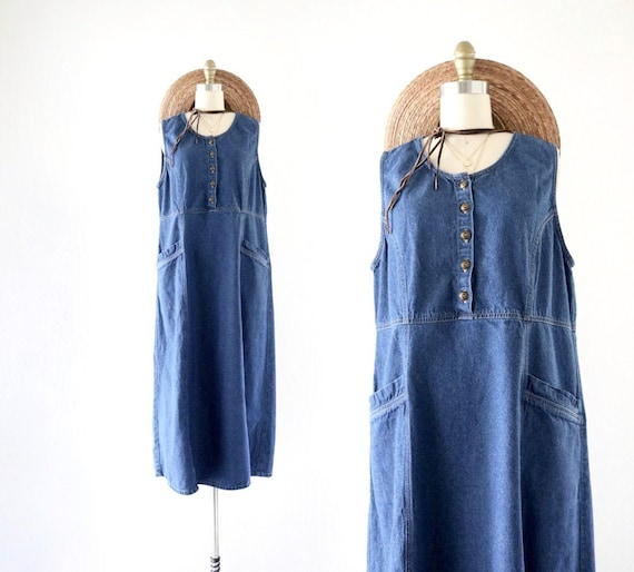 denim market dress  - m