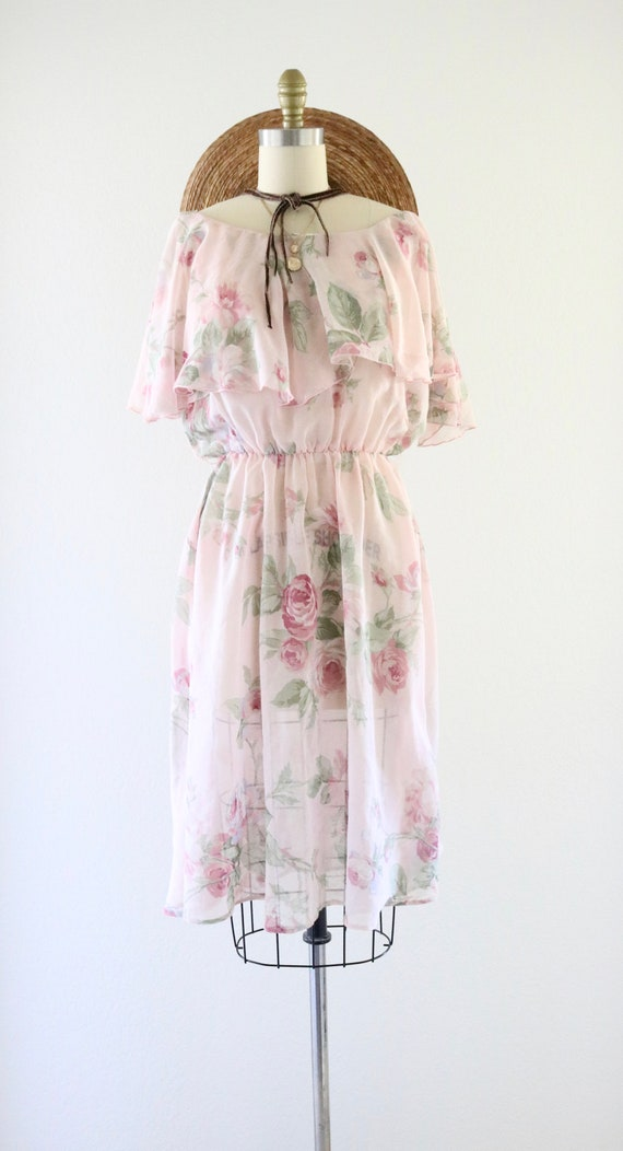 cottagecore ruffle dress - m - image 2