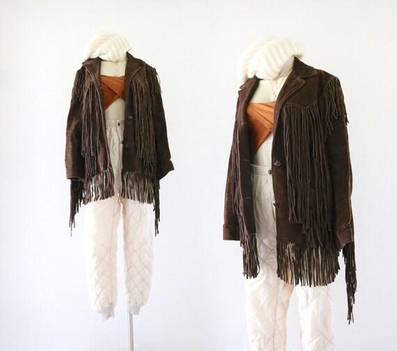 1970's suede fringe jacket