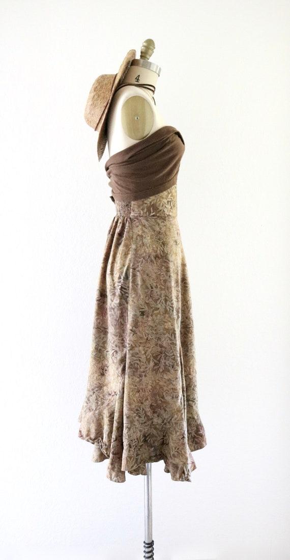 high waisted foliage skirt - xs - image 3