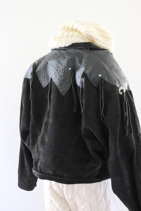 suede fringe jacket - image 7