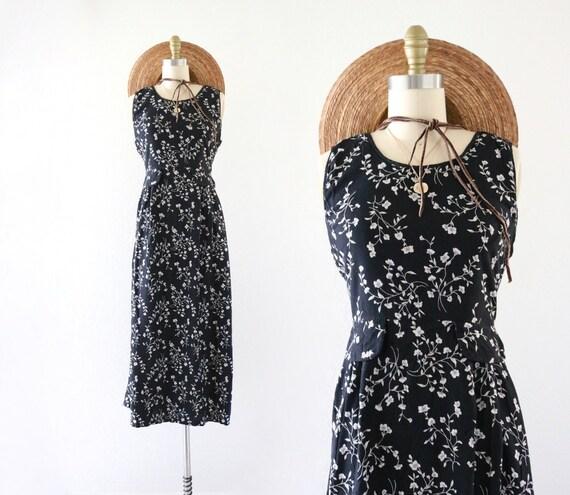 botanical tie back market dress - 10