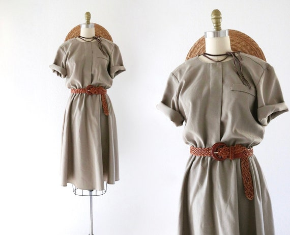woven day dress s/m