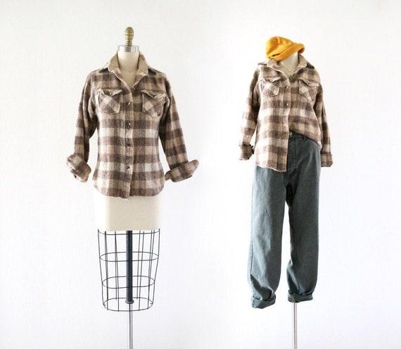 70's wool shirt - jacket