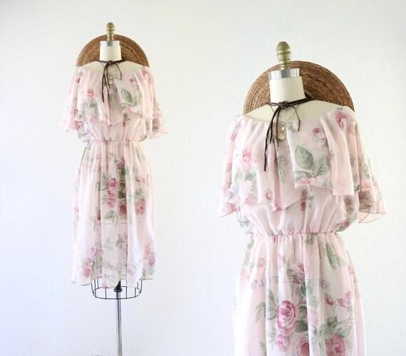 cottagecore ruffle dress - m - image 1