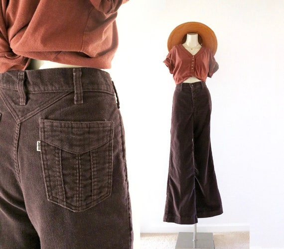 70's levi's bell bottoms / 31