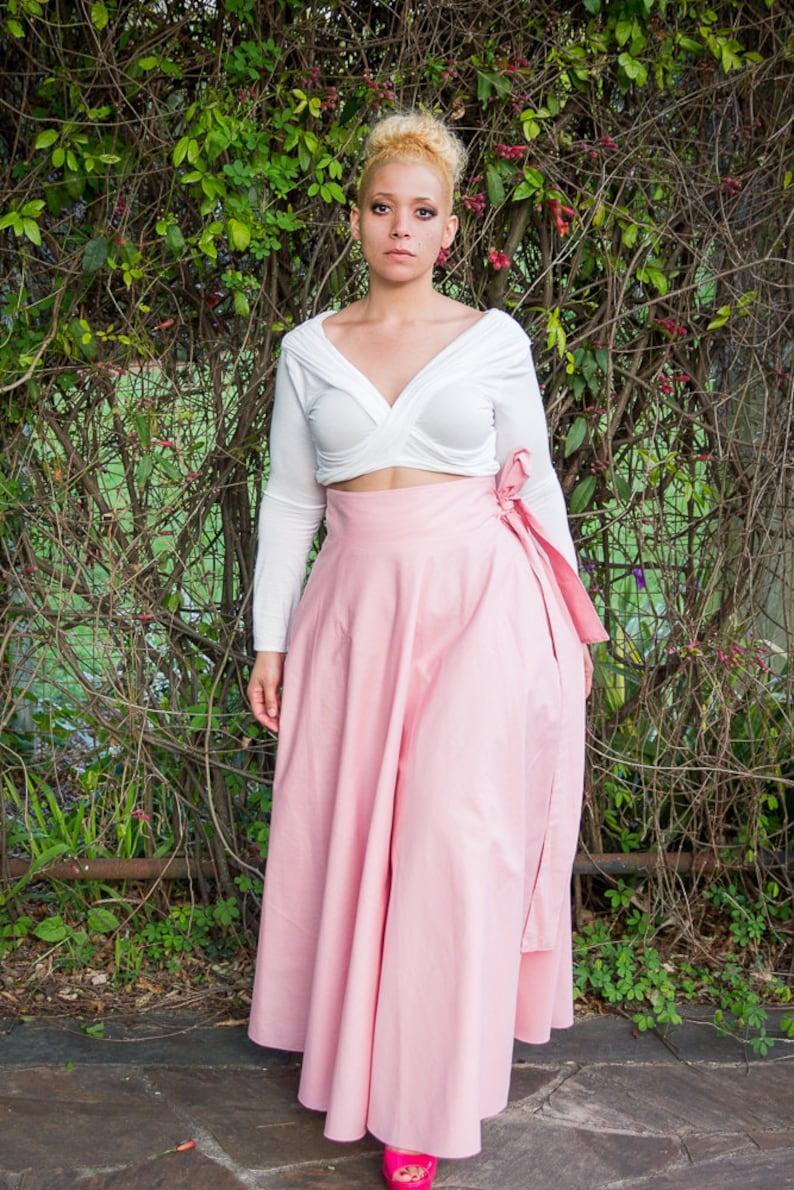Maxi Skirt Custom/ Women plus size High Waist / plus size  2  image 0