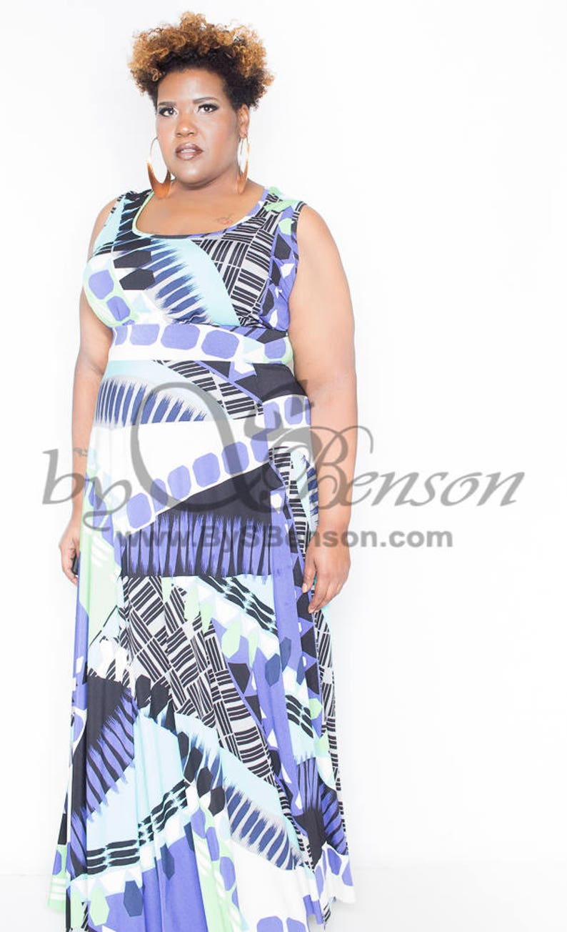 Plus Size Maxi Dress 2 piece image 0