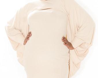 Plus Size Shrug Bolero Cover up Sweater - Plus Sizes (16- 34)