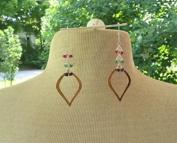 Marque Drop Dangle Earrings
