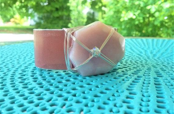 Pink Opal Cuff