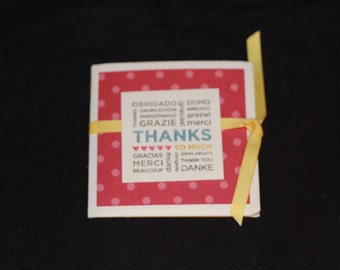 Card Packet With 3 Thank-You Cards/Envelopes